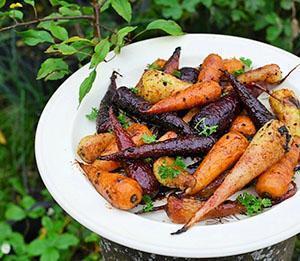 Блюдо из цветной моркови