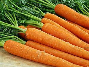 Богатая витаминами морковь