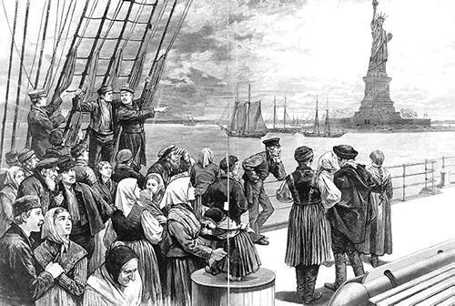 Начало картофельной истории в США