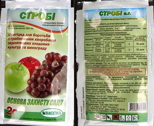 хорус фунгицид инструкция по применению на винограде