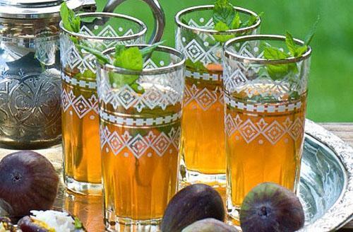 Чай с перечной мятой