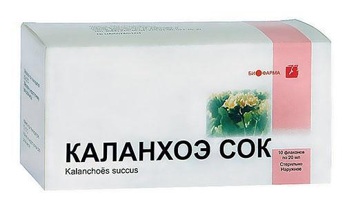 Сок каланхоэ продается в аптеке