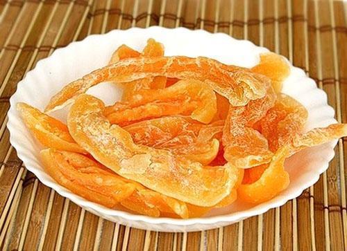 Сушеная дыня - домашний десерт