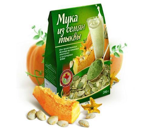 Измельченные в муку семена добавляют в питание