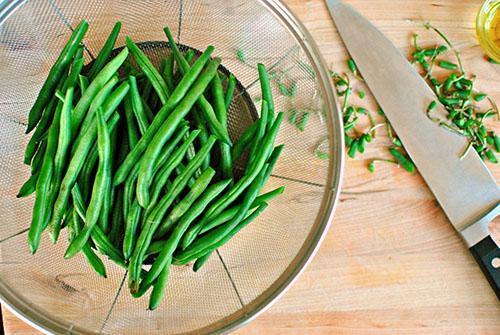 как вкусно приготовить зеленую стручковую фасоль замороженную