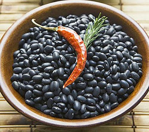 Только бобы черной фасоли не повреждаются зерновкой