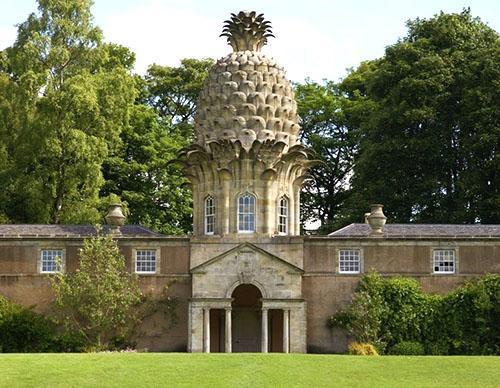 Теплица с куполом в форме ананаса