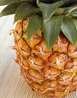Спелый ананас самый ароматный и вкусный