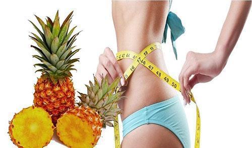 У свежего ананаса низкая калорийность