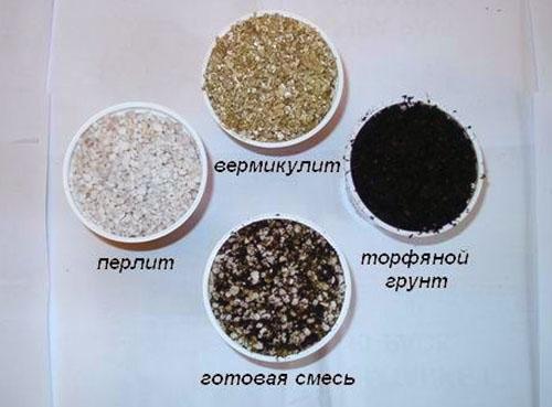 Составляющие питательной смеси для ахименесов