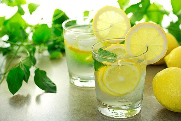 Вода с лимоном натощак