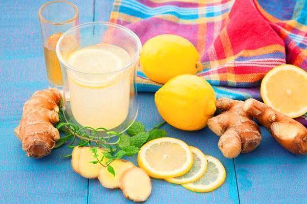 имбирный чай с лимоном для похудения видео