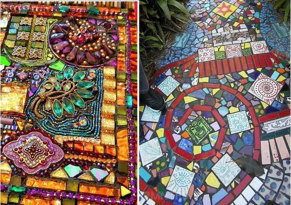 Мозаичные тропинки