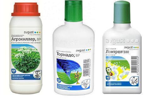 гербициды от сорняков - агрокиллер, торнадо и лонтрел