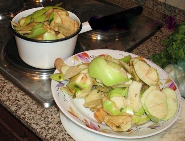 Отходы от переработки яблок
