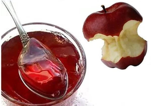 Желе из яблочных отходов