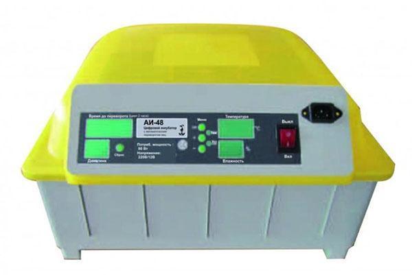 Автоматический инкубатор поворачивает яйца до 4 раз в сутки