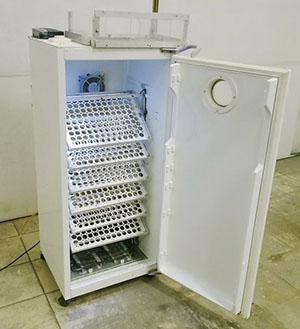 Инкубатор из холодильника
