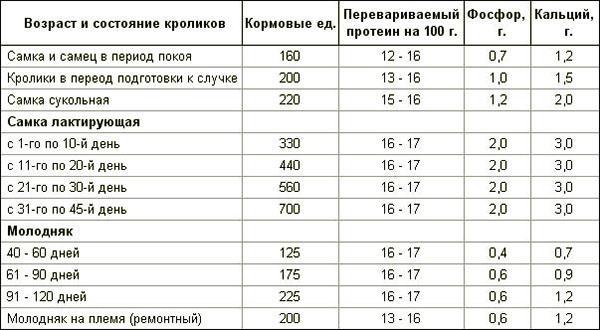 Норма потребления минералов и витаминного состава