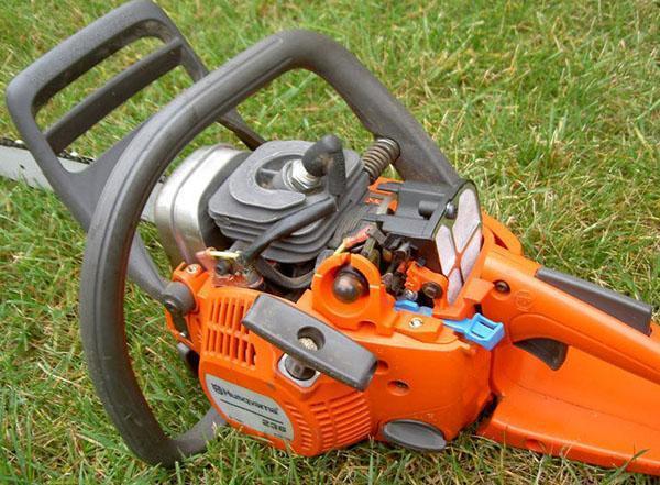 бензопила Husqvarna 236 инструкция по эксплуатации видео - фото 6