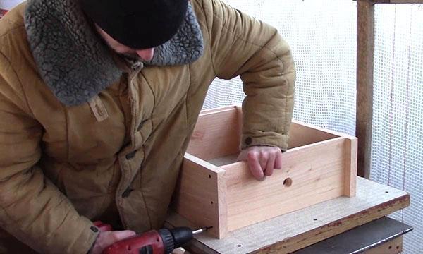 Сборка улья для пчел своими руками