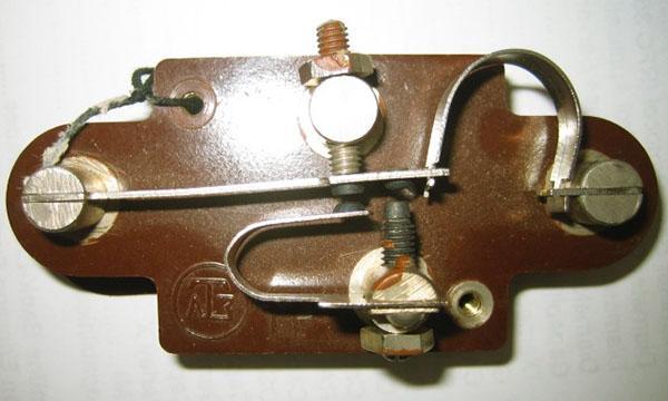 Терморегулятор старого типа