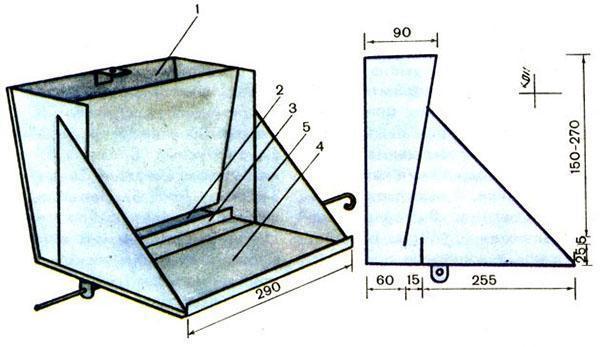 Как сделать кормушку для бункерная кормушка своими руками