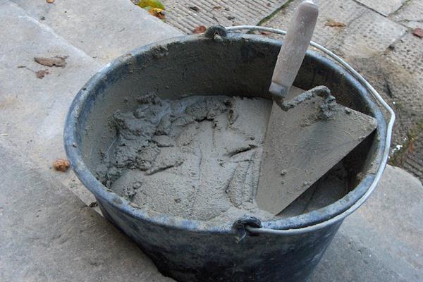Раствор цемента