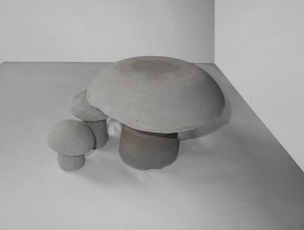 Заготовка фигурки гриба