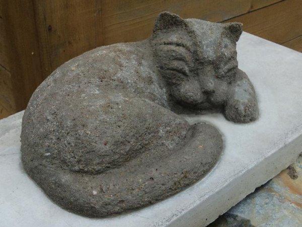 Бетонный кот