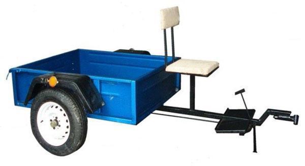 Прицеп к культиватору Крот для перевозки грузов