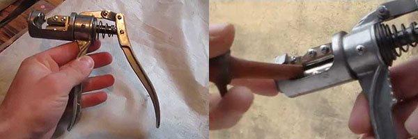 Самодельный прививочный секатор из чесночницы