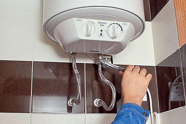 Установка водонагревателя своими руками в квартире