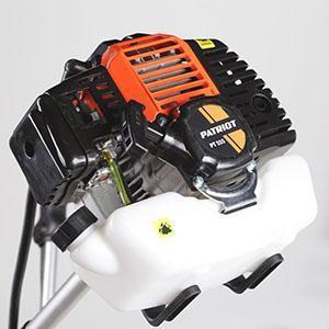 В бензиновом триммере Патриот 555 легко заменяется воздушный фильтр