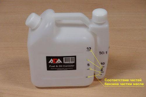 пропорции смешивания масла с бензином для лодочного мотора ямаха