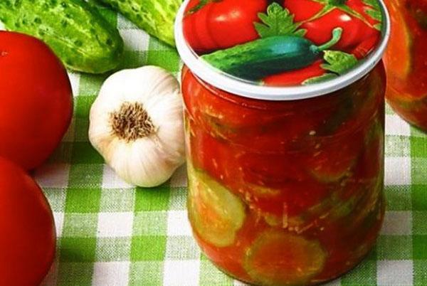 рецепт приготовления огурцов в томатном соке на зиму