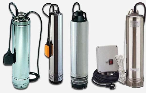 насосы на воду для скважины