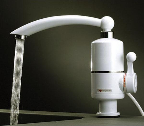 смеситель с водонагревателем