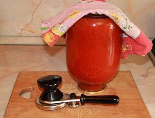 Как сделать томатный сок дома на зиму