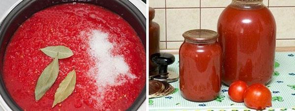 Приготовление томатного сока на зиму в домашних
