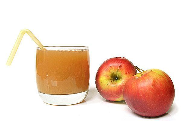 свежевыжатый сок яблочный