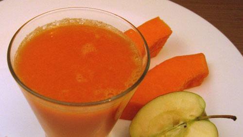 яблочно тыквенный сок