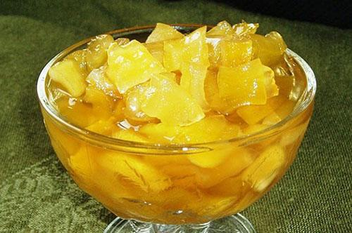 заготовка из кабачков и сока ананаса