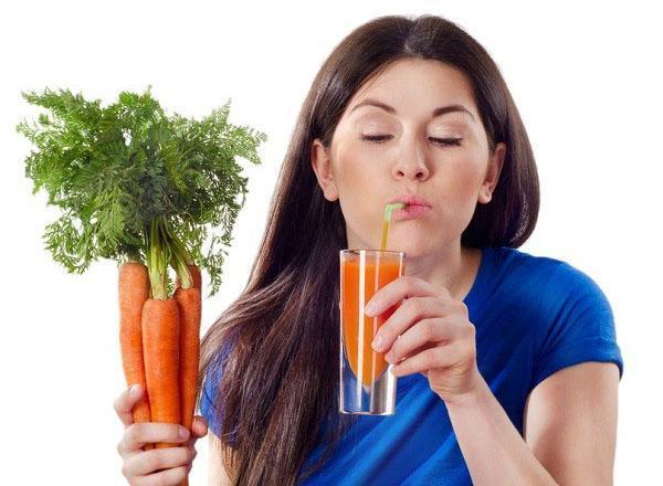 морковный сок для здоровья