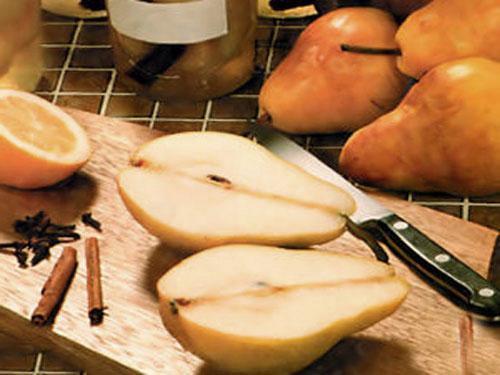 подготовить груши