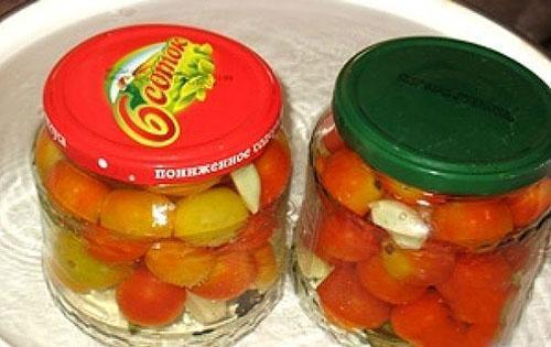 пропарить томаты