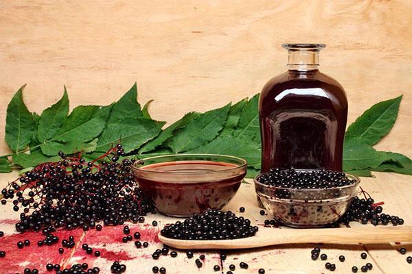 сок из рябины черноплодной