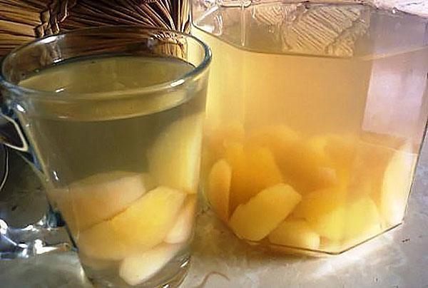Как сделать вкусный напиток из яблока
