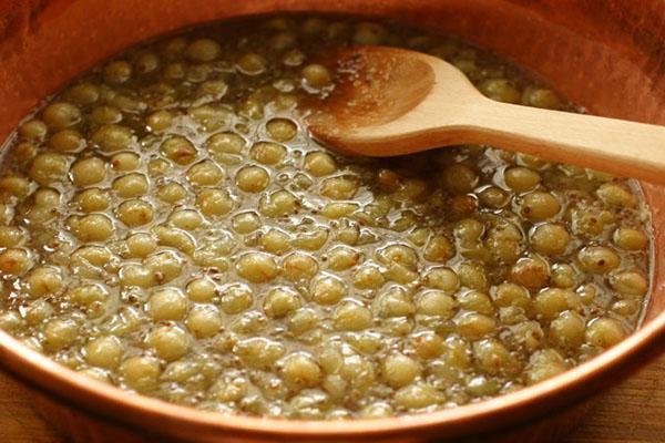 мандариново-крыжовниковое варенье