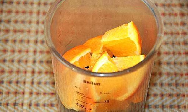 подготовить апельсины